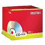 CD RW 700 MB 4x 12x Imation jewel da 10 pz