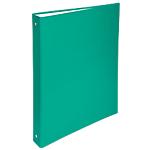 Raccoglitore Exacompta Foderato verde 4 anelli 32 (h) x 26 (l) x 4 (p) cm