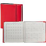 Agenda settimanale Quo Vadis Time & Life Cassandra rosso ciliegia 16 (h) x 16 (l) cm