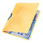 Cartellina Color Clip Rainbow giallo