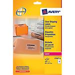 Etichette per indirizzi Avery Zweckform L7565 25 trasparente 99,1 (l) x 67,7 (h) mm 200 etichette 25 fogli