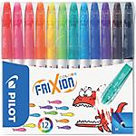 Pennarelli Pilot Frixion Colors media 0.6 mm 12 pezzi