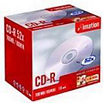 CD R 700 MB 52x Imation jewel da 10 pz