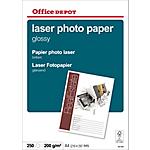 Carta Fotografica Office Depot Laser A4 lucido 210 g