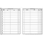 Registro corrispondenza Semper Arrivo partenza bianco 24,5 x 31 cm 31 x 24,5 cm 100 fogli