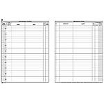 Registro corrispondenza Semper Arrivo partenza bianco 24,5 x 31 cm 31 x 24,5 cm 200 fogli