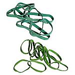 Elastici a fascetta verde 8 (h) x 1.000 (Ø) mm 1.000 g