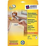 Etichette AVERY Zweckform L4736Rev 25 bianco 1200 etichette 25 fogli