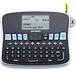 Etichettatrice da scrivania Dymo LM360D qwertz nero argento