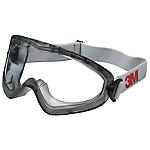 Occhiale a mascherina con lente trasparente 3M 2890 nylon, pvc grigio