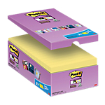 Notes riposizionabili Post it Super Sticky giallo canary 76 x 127 mm 74 g
