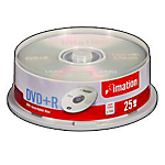 DVDR Imation da 47GB spindle da 25 pz