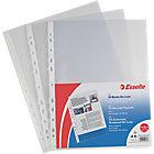 Buste a perforazione Esselte Office trasparente polipropilene 22 (l) x 30 (h) cm 50 pezzi