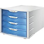Cassettiera modulare HAN Monitor blu A4 4 29,4 (l) x 36,8 (p) x 23,5 (h) cm