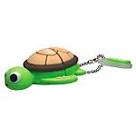 Funny Acquarium Flash Drive 4GB Tartaruga