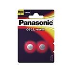 Batterie a bottone Panasonic CR2032 CR2032 confezione 2 2 pezzi