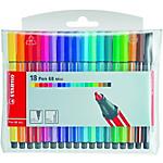 Pennarello STABILO Pen 68 punta in fibra 1 mm rosso