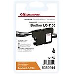 Cartuccia inchiostro Office Depot compatibile brother lc1100bk nero