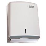 Dispenser Office Depot Asciugamani piegati a ''C'' plastica abs bianco 27,5 (p) x 36,4 (h) cm