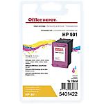 Cartuccia inchiostro Office Depot compatibile hp 901 3 colori cc656ae