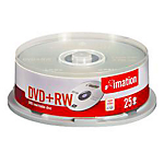 DVD RW Imation da 47 GB spindle da 25 pz