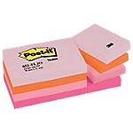 Notes riposizionabili Post it Joyful assortito 38 x 51 mm 70 g