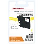 Cartuccia inchiostro Office Depot compatibile brother lc985y giallo