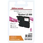 Cartuccia inchiostro Office Depot compatibile brother lc985m magenta