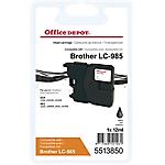 Cartuccia inchiostro Office Depot compatibile brother lc985bk nero