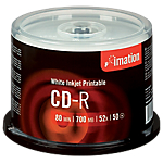 CD R Imation Printable spindle da 50 pz