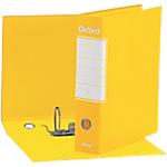 Registratore Esselte Oxford Commerciale giallo 2 anelli 80 mm 31 x 8 cm
