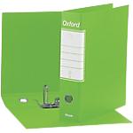 Registratore Esselte Oxford Commerciale verde lime 2 anelli 80 mm 31 x 28,5 cm