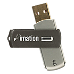 USB Flash drive Swivel Imation 4 GB
