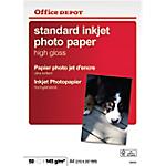 Carta Fotografica Office Depot Standard A4 lucido 145 g