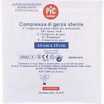 Compresse di garza sterile PVS per compressione e per assorbimento 10 pezzi