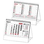 Calendario orizzontale Bilingua, da banco 15,5 (p) x 13,5 (h) cm