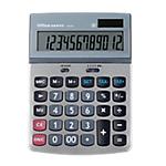 Calcolatrice da tavolo Office Depot AT 814 a batteria, solare argento