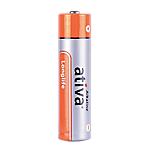 Pile Alcaline Ativa AAA AAA confezione 24