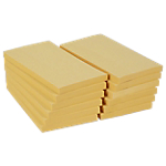 Notes riposizionabili Office Depot giallo 76 x 127 mm 70 g