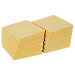 Notes riposizionabili Office Depot 654GE giallo 76 x 76 mm 70 g