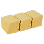 Notes riposizionabili Office Depot giallo 38 x 50 mm 70 g
