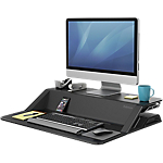 Workstation Fellowes Lotus nero 83,19 (l) x 61,6 (p) x 13,97 (h) cm