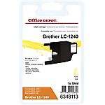 Cartuccia inchiostro Office Depot compatibile brother lc1240y giallo