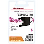 Cartuccia inchiostro Office Depot compatibile brother lc1240m magenta