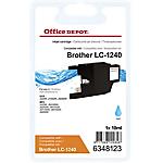 Cartuccia inchiostro Office Depot compatibile brother lc1240c ciano