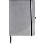 Quaderno Foray A5 grigio a righe 21 (h) x 14,8 (l) cm ultime 16 pagine 80 g