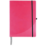 Quaderno Foray A5 rosa a righe 21 (h) x 14,8 (l) cm ultime 16 pagine 80 g