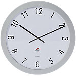 Orologio da parete Alba Big Big grigio metallizzato 60 (h) x 60 (p) x 60 (Ø) cm
