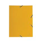 Cartelline a tre lembi Exacompta Eco polipropilene opaco 32 (h) x 24 (l) x 0,2 (p) cm giallo 30