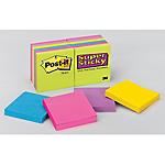 Notes riposizionabili + Padella in ceramica Post it Super Sticky assortito 76 x 76 mm 76 x 76 mm 24 pezzi